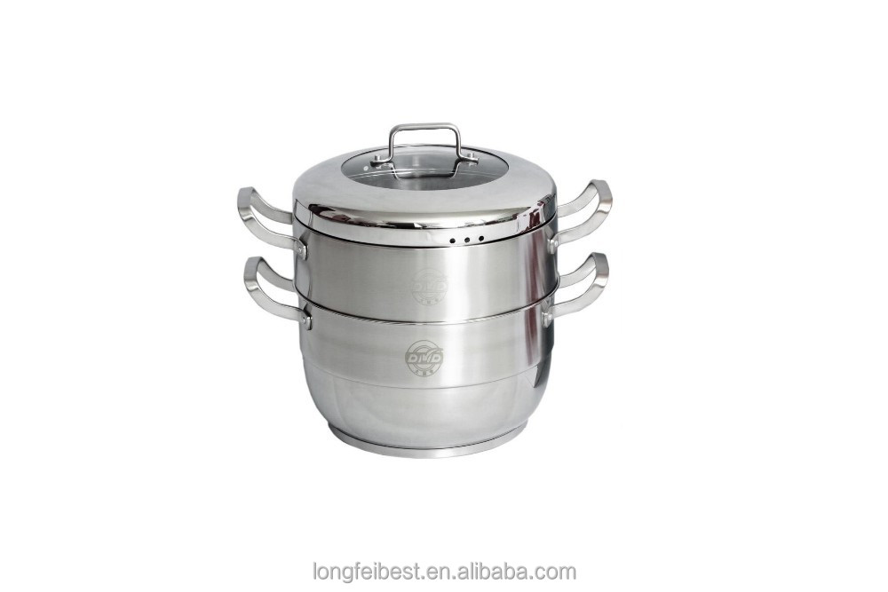 Double Layer Rice Cooker Vacuum Cooking Pot
