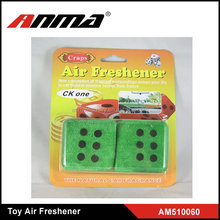 HOT SALE ! ANMA high quality hanging toy dice car air freshener