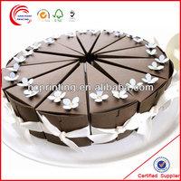 Fashion cake slice paper box