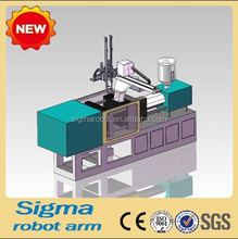 industrial robots for car bumper injection molding machine