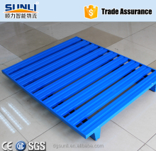 800KG~2000KG 1.2mx1m Galvanized Steel Pallet for Storage