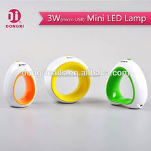 Fashion Hot Sell 3w USB Mini Nail Led Lamp For Home