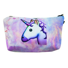 2017 Cute little horse shaped soft cloth customized your own brand makeup brush bag /case