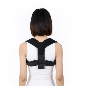 Widen Neoprene Clavicle Shoulder Back Support Belt Posture Corrector