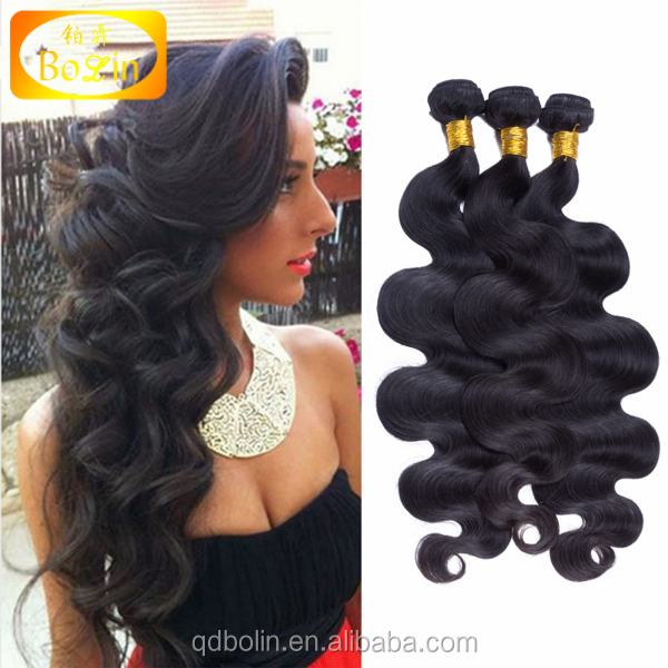 Alibaba Body Wave Natural Black Women Human Brazilian Remy Hair Extension 7a Grade Virgin Hair
