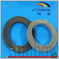 with iso 9001-2008 standard nonflammable antiwear nylon sleeve protective hose