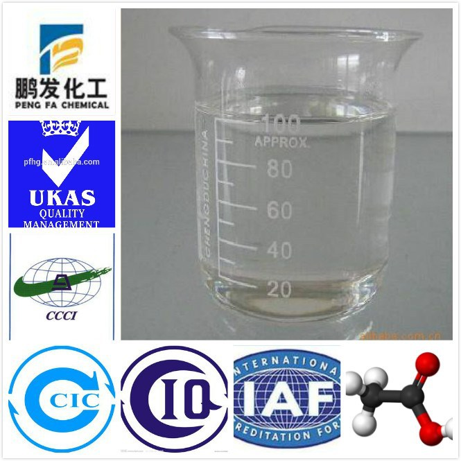 Basic Organic Chemicals formic acid 85%min solution supply by ISO factory