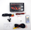 Backup Rear View Car Camera with Remote Control 480P 170 Degree Viewing Angle with Retail Package