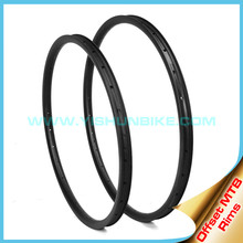"Asymmetry carbon mtb rim!! Yishunbike 29""- 33mm Tubeless 29 inch Hookless carbon mtb bicycle rims 28/32H"