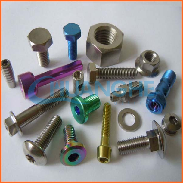 Fasteners Cheap color titanium bicycle/bike bolt&screw