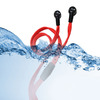 waterproof shoelace earphone sport in-ear earphone with mic