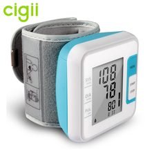 Digital wrist watch blood pressure monitor best price with WHO/ IHB checking for home health care