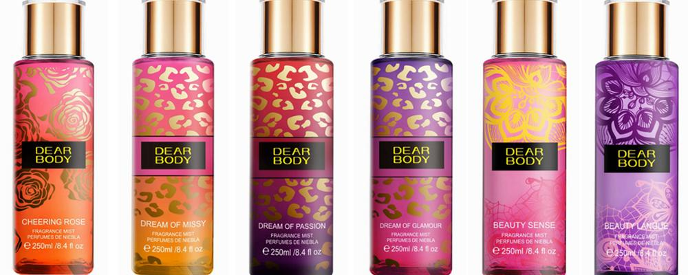 Newest! Orginal Brand Manufacturer Deodorant Body Splash&Perfume with Different Floral Scents