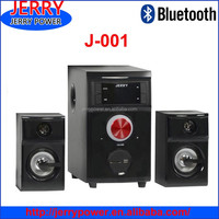 bluetooth speaker with led light 2.1 ch computer speaker with usb sd fm radio speakers made in china