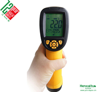 -18~1350 Celsius Heat Thermometer Infrared Digital Thermometer AS872D Laser Temperature Meter