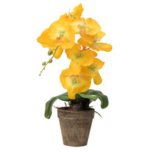 50cm height artificial orchid flower plant bonsai for home decor