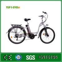 TOP/OEM 26inch E Bike Bikes with pedal mopeds for sale 250w/350w