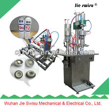 Cooling agent packing and filling machine refrigerant f12