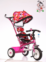 2016 China wholesale new model painting kids tricycle /4 in 1 baby children tricycle with canopy/ cheap kids tricycle