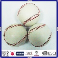 hot sell PVC leather OEM design promotional cheap price customized logo cowhide leather baseballs