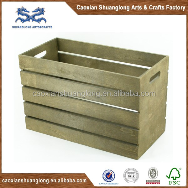 Cheap vintage wooden wine bottle crates buy cheap wooden for Where to buy used wine crates