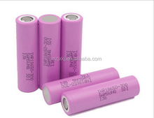 Hot Rechargeable 3.7V Li-ion battery for samsung INR18650 30Q 3000mah li- Ion Battery