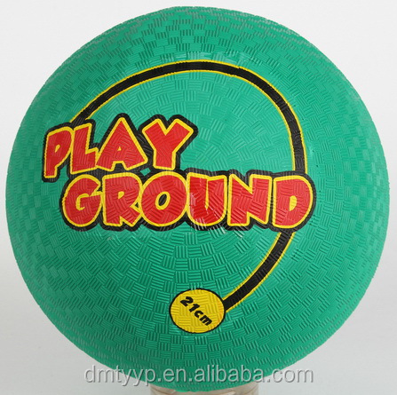 Xidesen soft Rubber Playground ball 8.5 inch