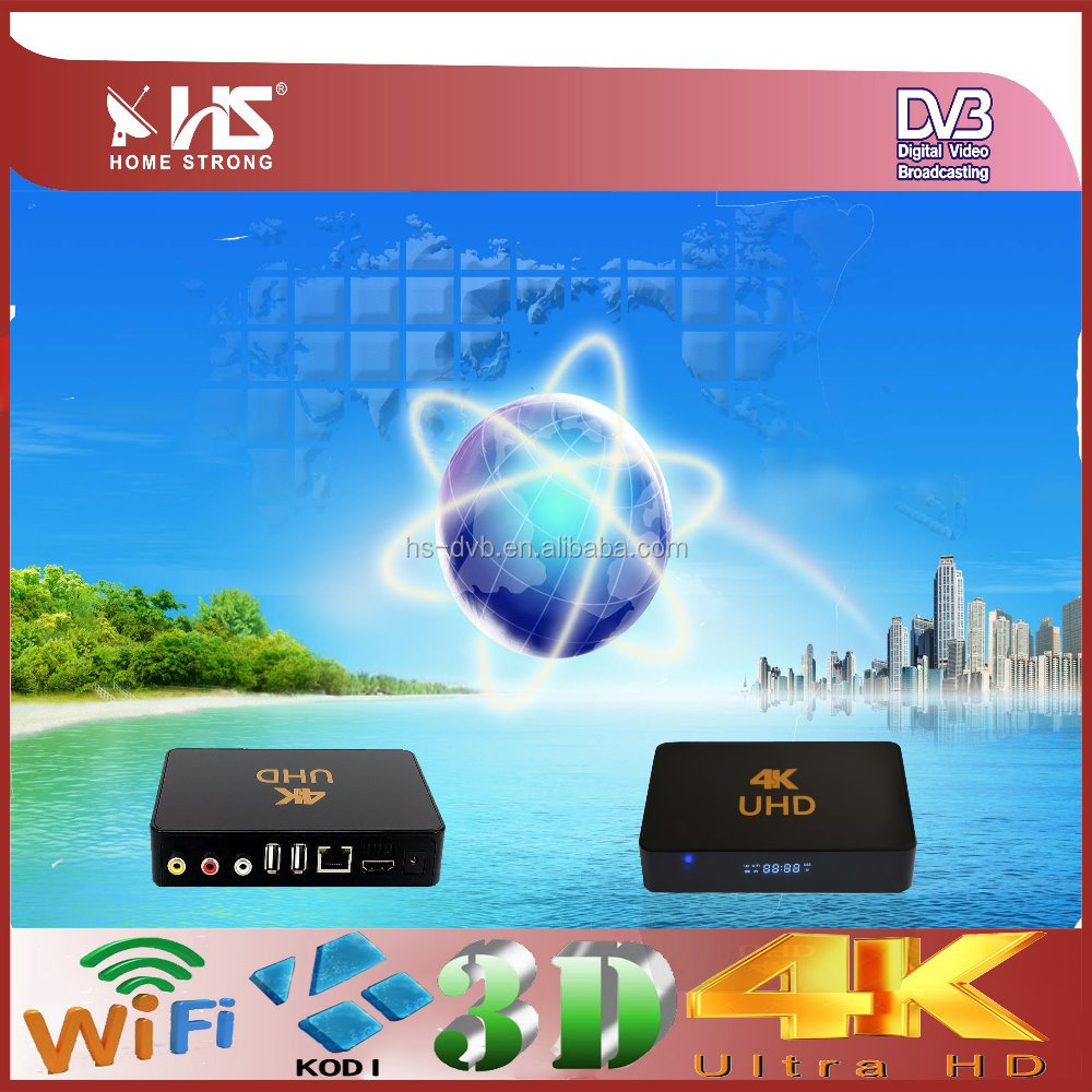 4K UHD android hs8 tv box usb flash drive iptv set top box