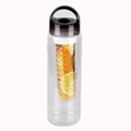 BPA free portable outdoor drinking fruit water bottle infusion with handle
