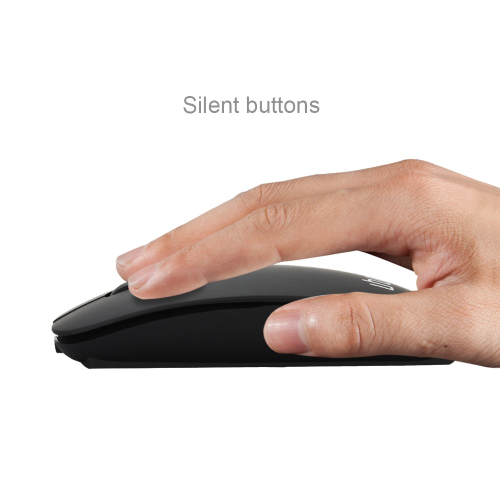 Rechargeable USB Mute Silent Click Mini Noiseless Optical Mouse 1200 DPI for PC Laptop Computer Bluetooth 3.0 Wireless Mouse