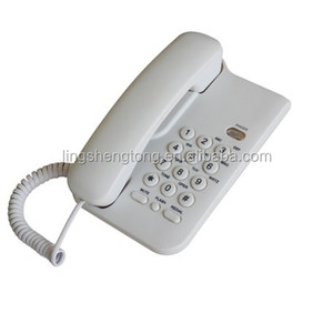 Wall Mountable Analog Telephone for South America market