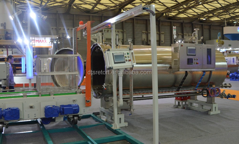 steam and air retort/autoclave/sterilizer for fragile and flexible package
