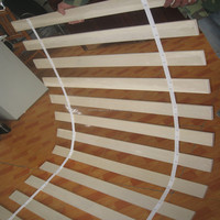 E1 glued poplar core chair/sofa slat LVB plywood bed slat