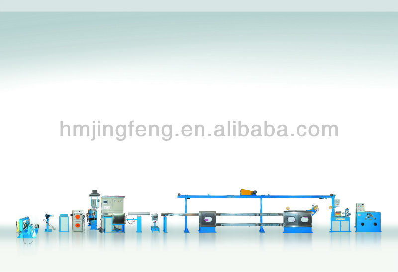 FEP,PFA,ETFE,PVDF Cable Making Machine