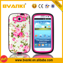 China Bulk Site Sublimation Liquid Phone Case Stylish Case Cover For Samsung Galaxy S3 I9300 Shockproof Blu Phone Case