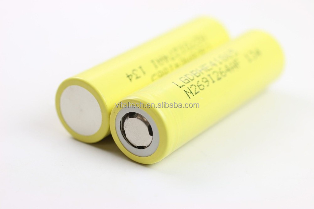 18650 battery hot china distributors 100% original LG vs lg he4 30A 3000mah LG hg2 electronics for remote control helicopter
