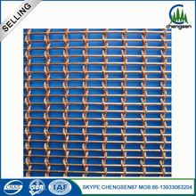 flexible metal wire mesh fabric screen magnetic door coil drapery