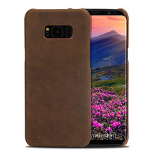 LANGSIDI brand mobile phone leather leather case holster For Samsung S8 handmade shell hand-made a variety of styles