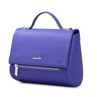 JUST STAR fashion lArc Shape Bottom Genuine Handbag & leather shoulder bags