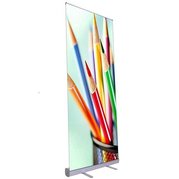 Cheap Aluminum Roll up Banner Stand