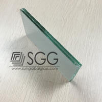 3mm 4mm 5mm 6mm flat laminated glass price