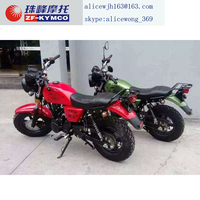 new style nice air colled 125cc motorcycle for sale(ZF150-10 )