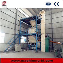 C71 TD-SJ-2 Simple Automatic Double Paddle Powder Mixer Dry Mix Mortar Cement Mixing Plant