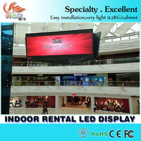 p3 indoor High quality express commercial advertising Indoor LED Large Screen Display