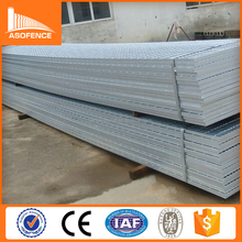 Cross 50mm pitch fabricated steel bar grating weight