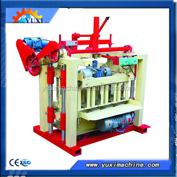 QT4-35 widely used Manual automatic Hydrauli concrete cement block making machine for sale in usa/Paving block making machine ma
