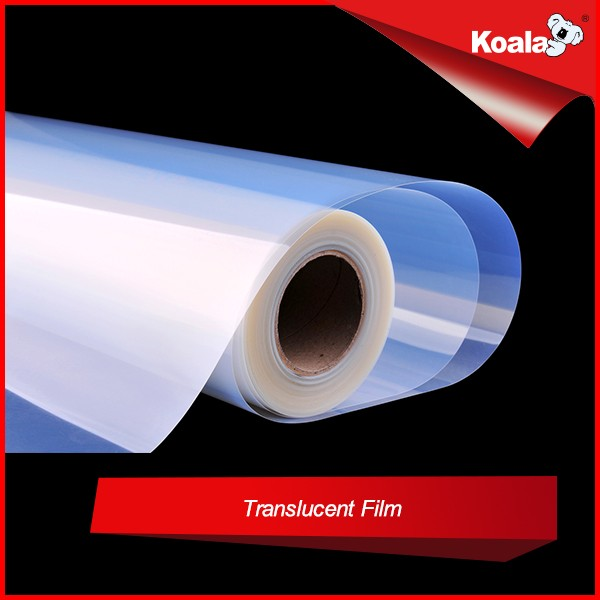 Instant dry semi-transparent waterproof film