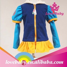 New!!! Hottest fashion high quality snow white princess coat baby winter coat