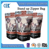 Wholesale 2kg resealable ziplock packaging whey protein powder bag