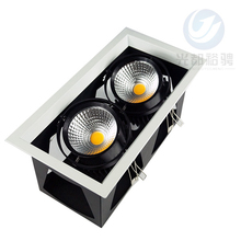 Bridgelux cob 60w Ce Rohs Rectangular Recessed Led Cob Downlight